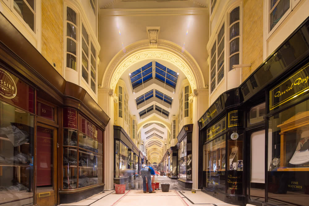 Commercial Refurbishment London Burlington Arcade